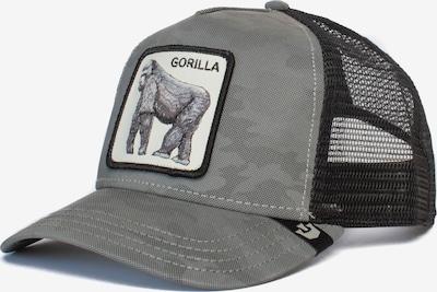 GOORIN Bros. Cap 'INSTINCTONLY' in basaltgrau / schwarz / weiß, Produktansicht