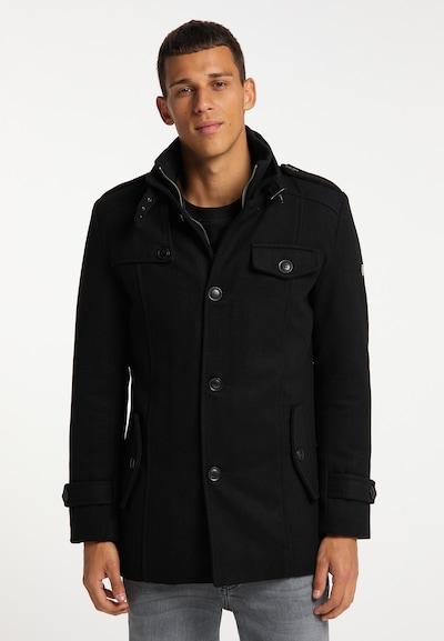 MO Mantel in schwarz, Modelansicht