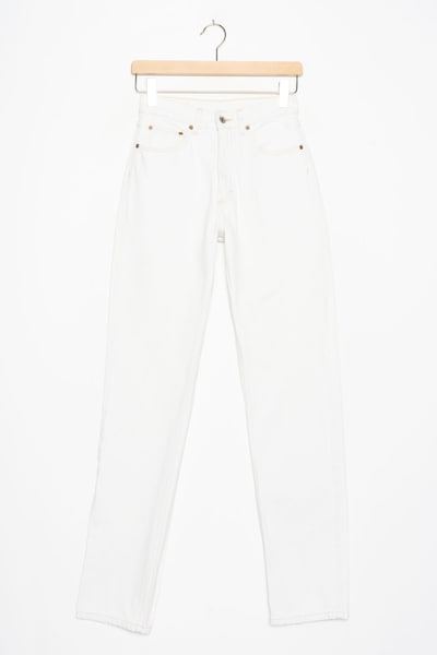 MUSTANG Jeans in 27/32 in white denim, Produktansicht