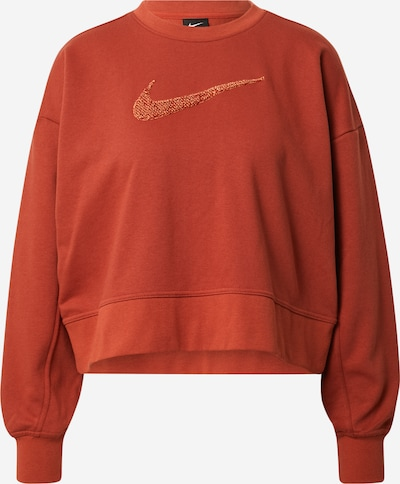 NIKE Sweatshirt 'Get Fit' in orange, Produktansicht