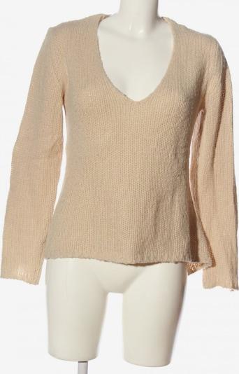 ANISTON V-Ausschnitt-Pullover in S in wollweiß, Produktansicht