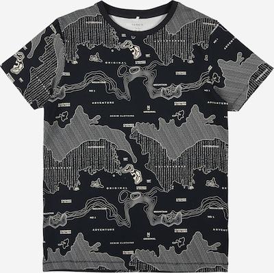 NAME IT T-Shirt en bleu cobalt / blanc, Vue avec produit