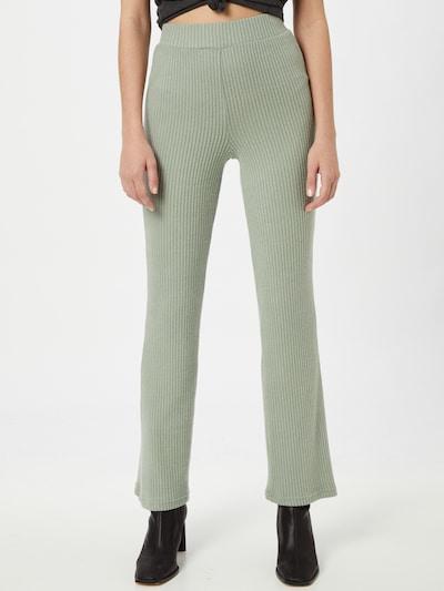 Pantaloni 'Stina' Gina Tricot di colore verde pastello, Visualizzazione modelli
