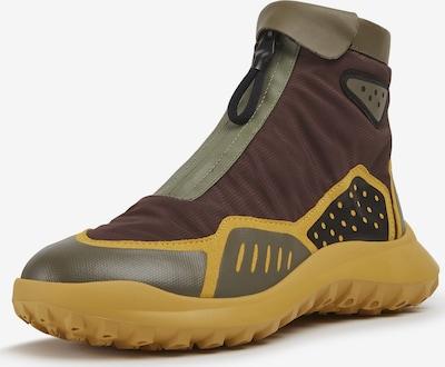 CAMPER Sneaker ' CRCLR ' in braun / gelb / oliv, Produktansicht