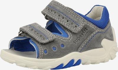SUPERFIT Sandale in blau / hellgrau, Produktansicht