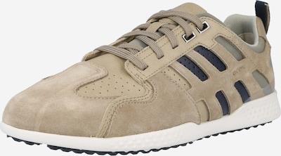 GEOX Sneaker in beige / marine / stone, Produktansicht