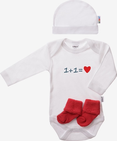 LILIPUT Baby-Ausstattungs-Set in himmelblau / rot / weiß, Produktansicht
