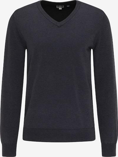 DreiMaster Maritim Pullover in schwarz, Produktansicht