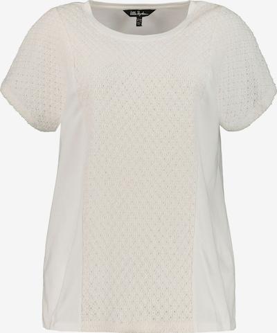 Ulla Popken Shirt in weiß: Frontalansicht
