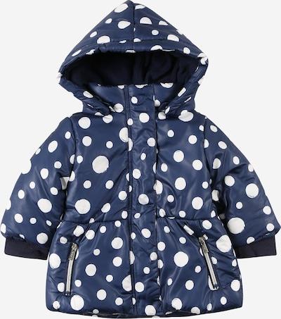 BLUE SEVEN Jacke in dunkelblau / weiß, Produktansicht