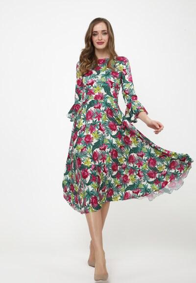 Madam-T Kleid 'Juliette' in mischfarben, Modelansicht