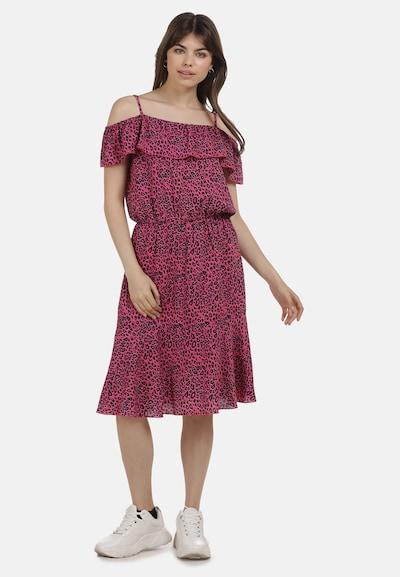 MYMO Kleid in pink / schwarz, Modelansicht