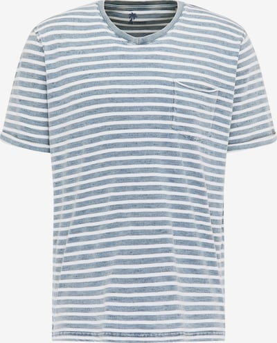 PIONEER Shirt in de kleur Blauw / Wit, Productweergave