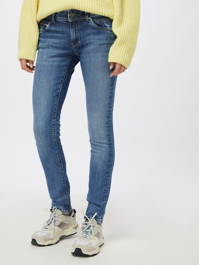 Pepe Jeans Jeans 'NEW BROOKE' in blue denim, Modelansicht