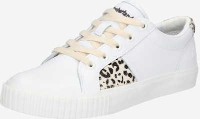 TIMBERLAND Baskets basses en beige / noir / blanc, Vue avec produit