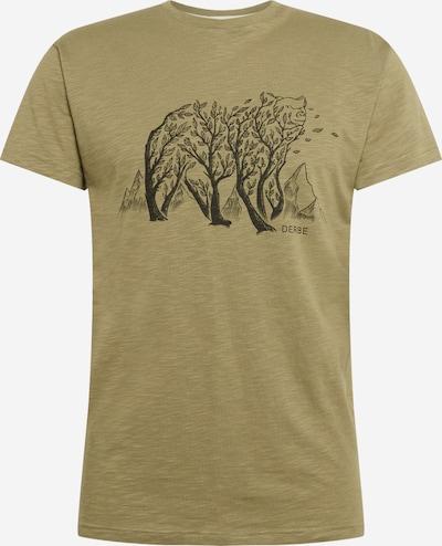 Tricou Derbe pe oliv, Vizualizare produs