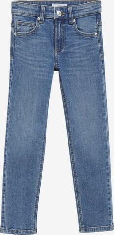 Jeans de la MANGO KIDS pe albastru