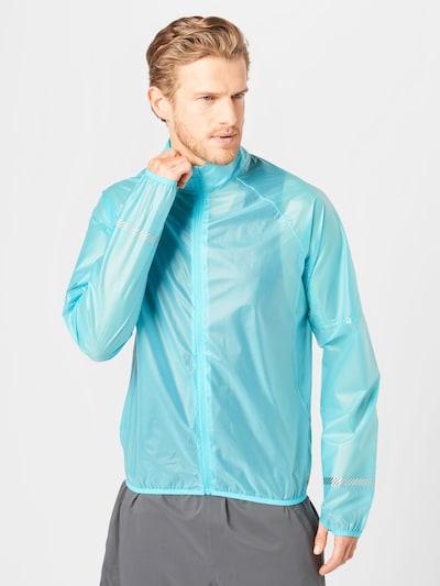Superdry Športna jakna   nebeško modra barva: Frontalni pogled