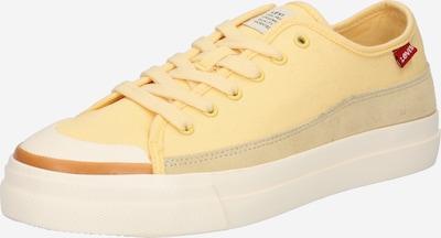 LEVI'S Tenisky 'SQUARE' - hnědá / světle žlutá / pudrová / bílá, Produkt