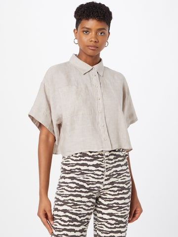 Gina Tricot Blouse in Beige