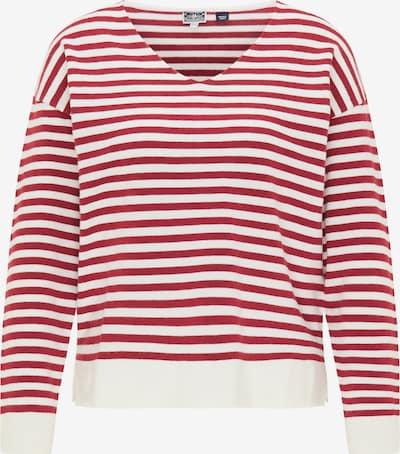 DreiMaster Maritim Trui in de kleur Rood, Productweergave