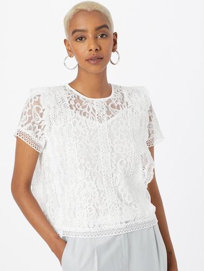 ONLY Blus 'LONA' i vit, På modell