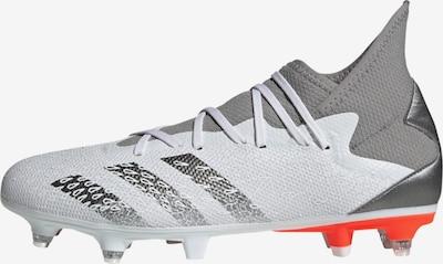ADIDAS PERFORMANCE Soccer Cleats 'Predator Freak.3' in Grey / Orange red / White, Item view
