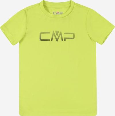 Tricou funcțional CMP pe verde neon / negru, Vizualizare produs