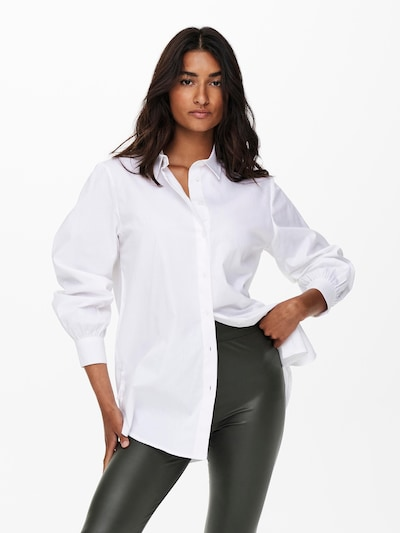 ONLY Bluse 'Nora' in offwhite, Modelansicht