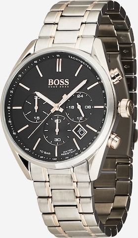 BOSS Casual Uhr 'CHAMPION' in Silber