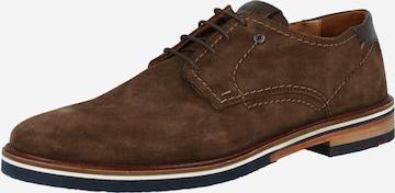 LLOYD Обувки с връзки 'DEGAS' в кафяво