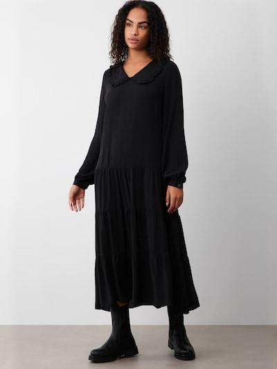 Aligne Kleid 'Bree' in schwarz, Modelansicht