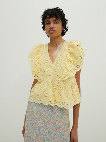 EDITED Bluse 'Elizabeth' i gul