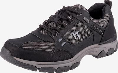 TOM TAILOR Schnürschuh in anthrazit / schwarz, Produktansicht