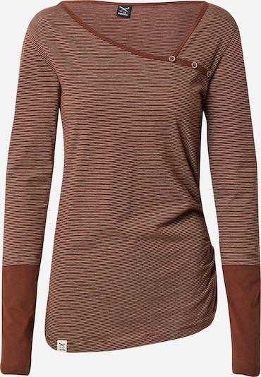Iriedaily Shirt in braun / weiß, Produktansicht