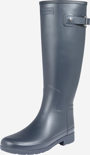 HUNTER Rubber boot in night blue / white, Item view