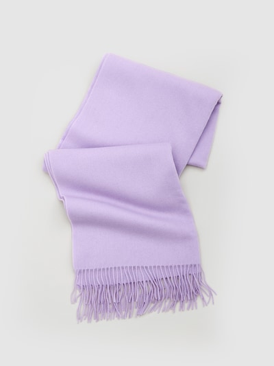 EDITED Scarf 'Esma' in Purple: Frontal view