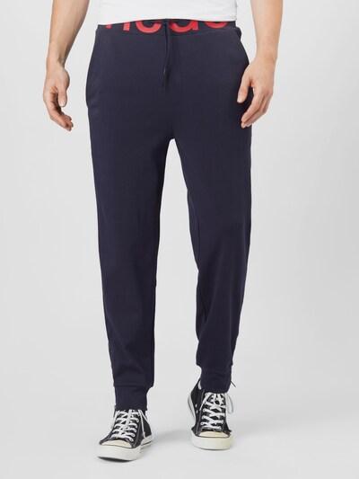 HUGO Kalhoty 'DUROS' - námořnická modř / červená, Model/ka