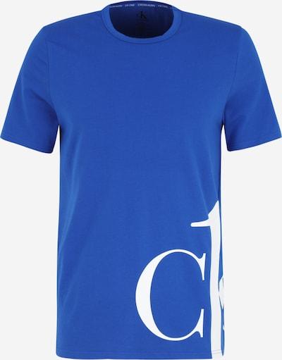 Pijama scurtă Calvin Klein Underwear pe albastru regal / alb, Vizualizare produs