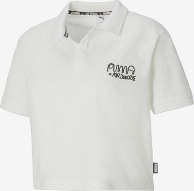 PUMA Poloshirt in schwarz / weiß, Produktansicht