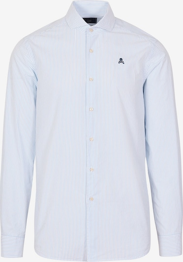 Scalpers Hemd 'Sport Elisee' in hellblau / weiß, Produktansicht