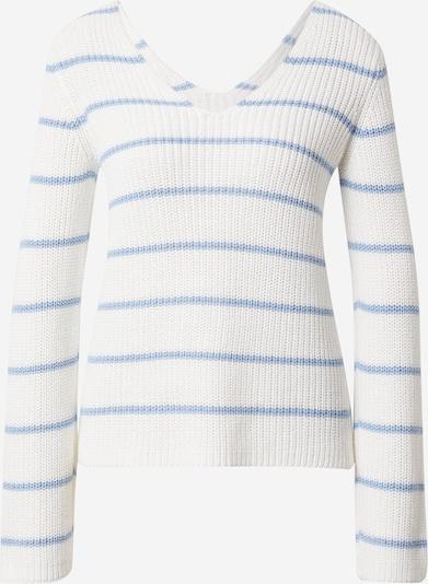 VILA Džemperis 'VIRush Light', krāsa - debeszils / dabīgi balts, Preces skats