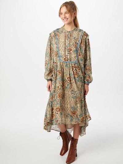 REPLAY Μπλουζοφόρεμα σε ανοικτό μπεζ / ανάμεικτα χρώματα, Άποψη μοντέλου