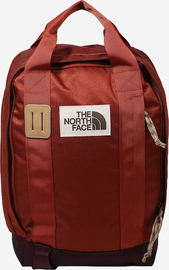 THE NORTH FACE Rucksack 'TOTE PACK' in karamell / weinrot, Produktansicht