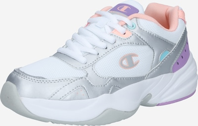 Champion Authentic Athletic Apparel Baskets basses 'PHILLY' en violet / pêche / argent / blanc, Vue avec produit