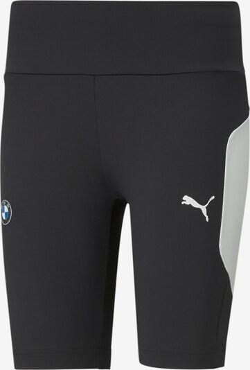 PUMA Pantalon de sport 'BMW' en bleu / noir / blanc, Vue avec produit