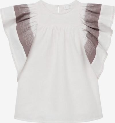 MANGO KIDS Kleid in braun / weißmeliert, Produktansicht