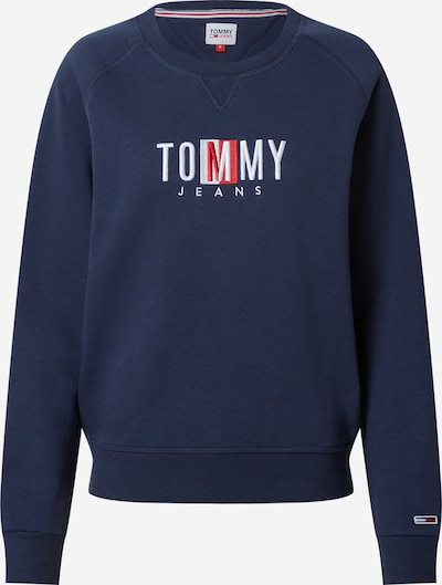 Tommy Jeans Sweatshirt in Navy / Pink / White, Item view