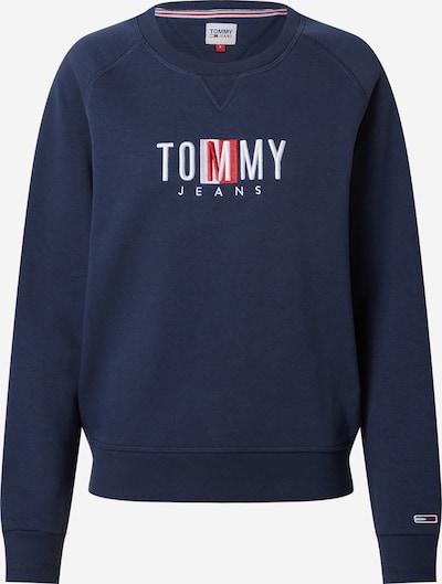 Tommy Jeans Majica | mornarska / roza / bela barva, Prikaz izdelka