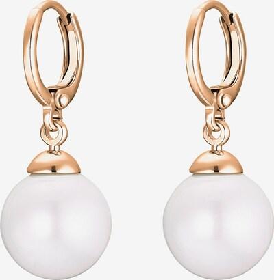 Heideman Ohrringe in gold / weiß, Produktansicht